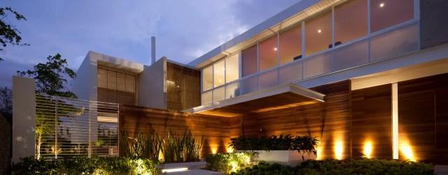 10 fachadas de casas modernas ¡con iluminación espectacular! homify