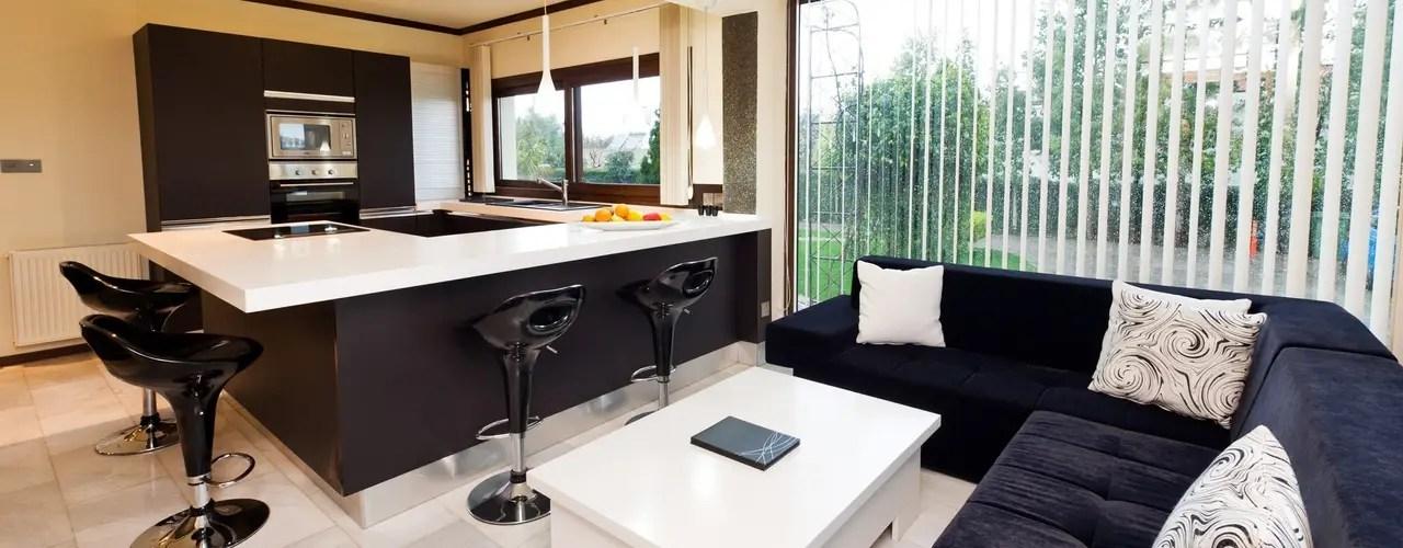15 Cocinas con livingcomedor integrado Te van a encantar