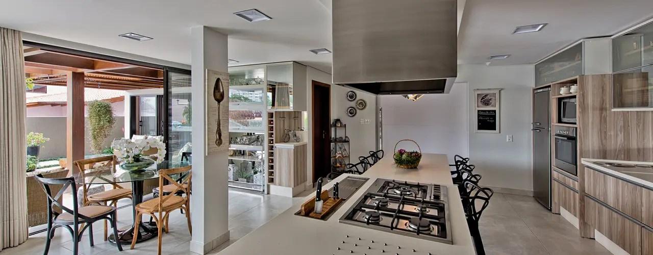 7 ideas geniales para separar la cocina de la sala y el