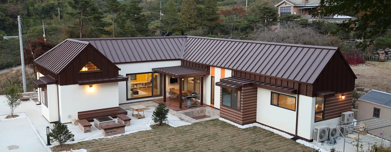 Rumah Dengan Bentuk L Baik Satu ataupun Dua Lantai