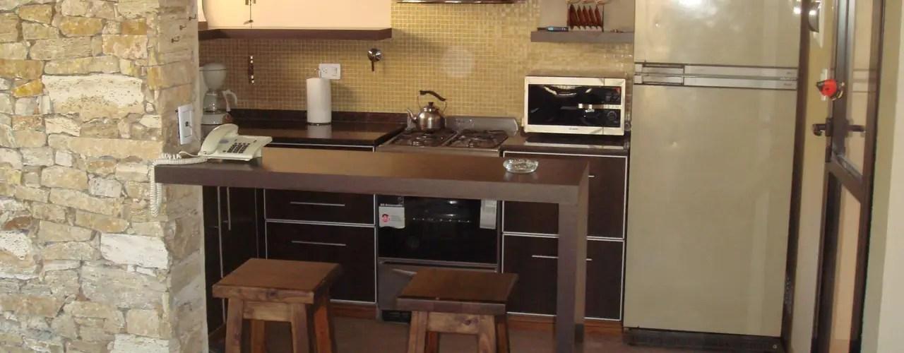 18 mini barras de cocina perfectas para casas chiquitas