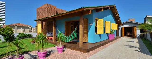 casa praia fachada casas ideias cores mais externa pintura pintar alvenaria cor aconchegante estilo homify tropical criativa ficar campo pintadas
