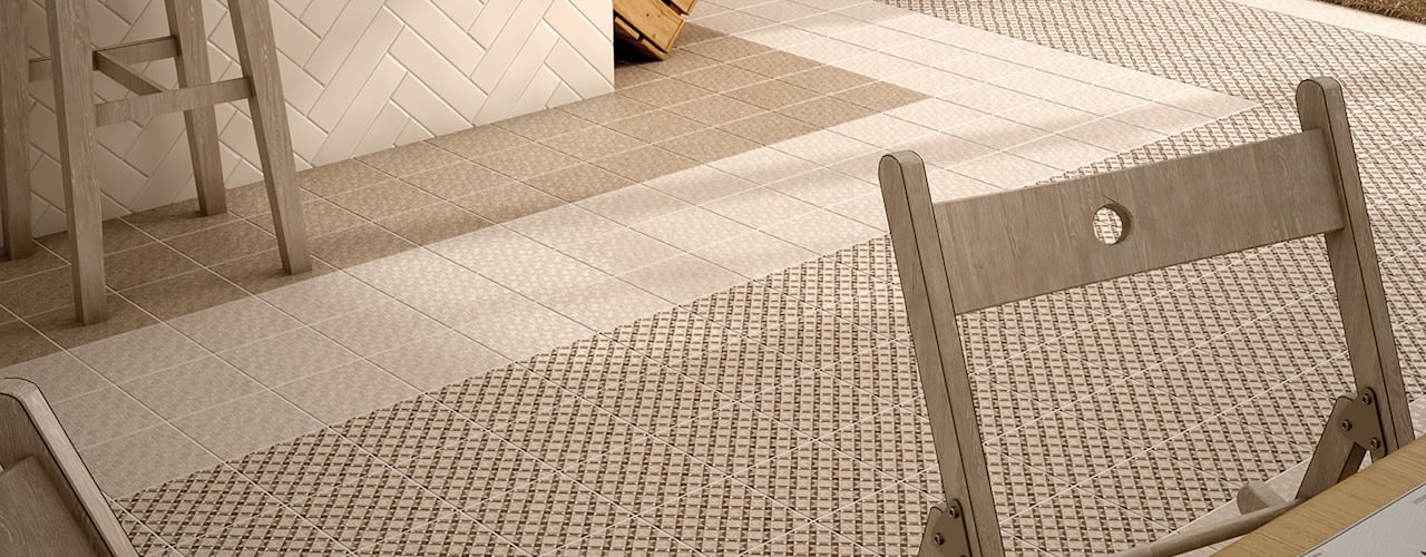6 modern tile laying patterns homify