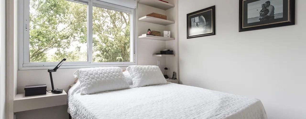 Camera da letto con parete in legn 7 di 30. 55 Fantastiche Camere Da Letto A Cui Ispirarsi Homify
