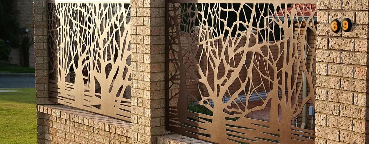 24 Rejas y lminas perforadas perfectas para casas modernas