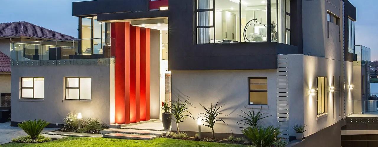 13 Ideas para iluminar la entrada y fachada de tu casa