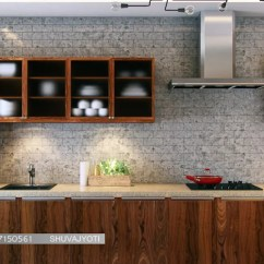 Kitchen Cabinet Designs In India Undermount Sinks What Is The Best Material For Cabinets 3d Visualization By Freelance