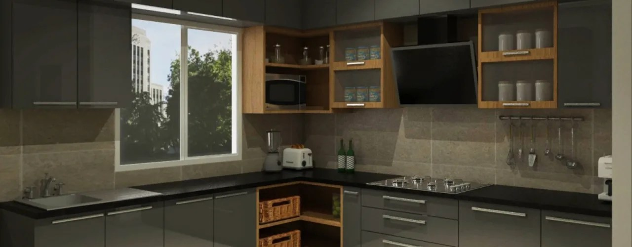 kitchen corner cabinets small rustic island how do i design to optimise space