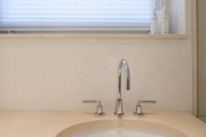 Ökologischer marmorputz im bad badezimmer von einwandfrei ...