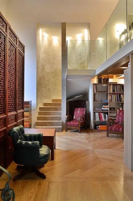 Soggiorno di casa di prestigio a firenze soggiorno in stile di pietre di rapolano  homify