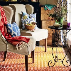 Arabian Nights Living Room Light Blue Gray Paint Indoor Outdoor Plastic Orange Rug By Green Decore