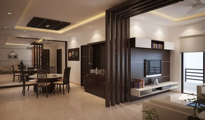Apartment At Adarsh Palm Retreat Living Room By Ace Interiors