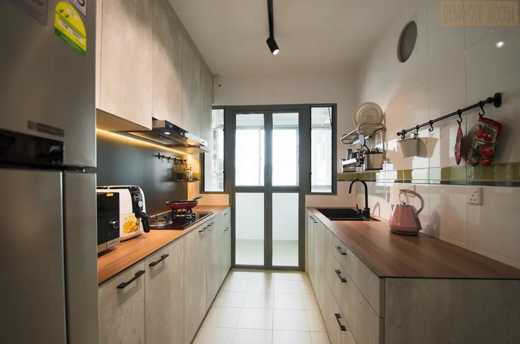 Punggol Waterway Brooks Bto Minimalist Kitchen By Designer
