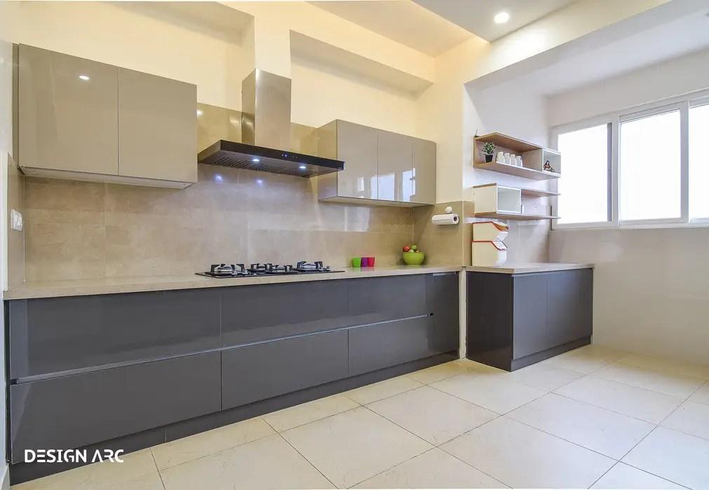 kitchen design bangalore kingston brass faucet modular by arc interiors