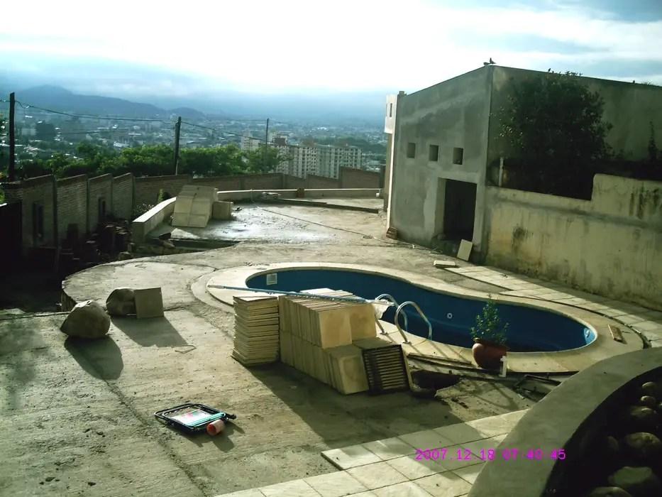 Ampliacin piscina y quincho piletas de estilo por valy
