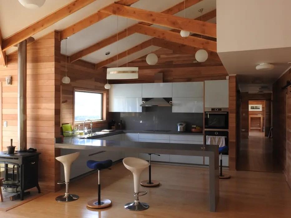 Vista cocina cocinas de estilo por urq arquitectura