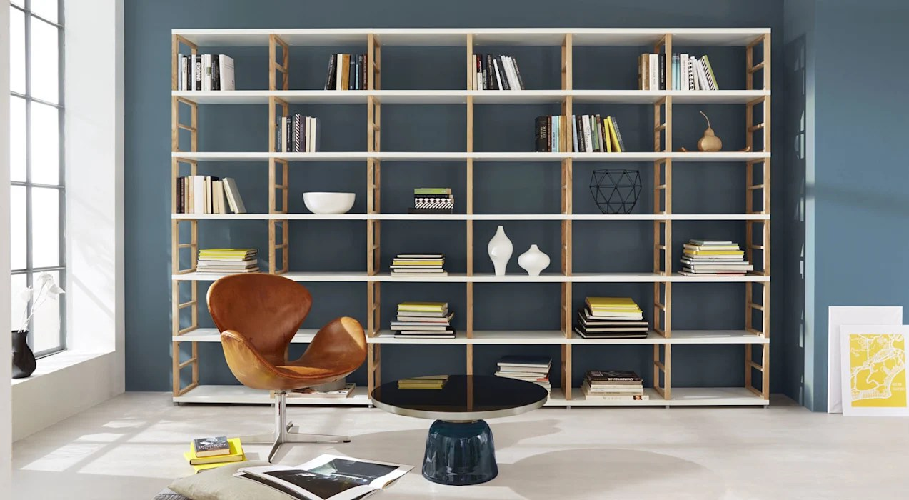 shelf units living room modern black and white furniture maxx open shelving by regalraum uk homify