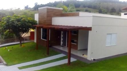Casa simples e moderna casas modernas por lana claudia kunz arquitetura moderno homify