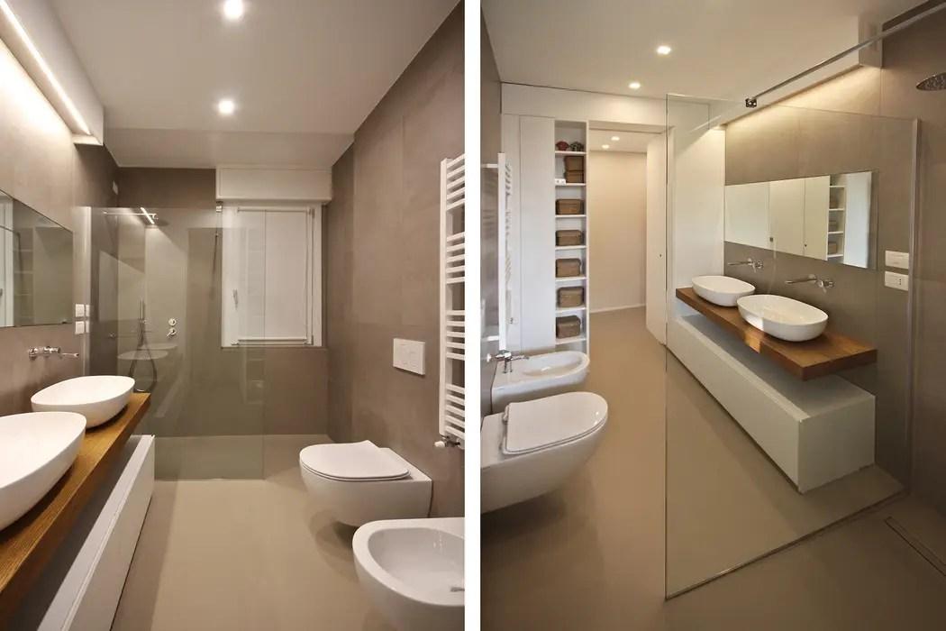 Bagno design moderno bagno in stile di jfd  juri favilli