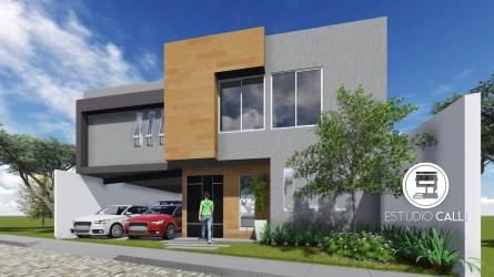 casas colores casa fachadas gris homify combinaciones fachada pisos claro dos te lateral moderno unifamiliares estilo madera