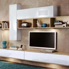 Tv Cabinet For Living Room Grey Furniture Modern Wall Unit By Innoire Design
