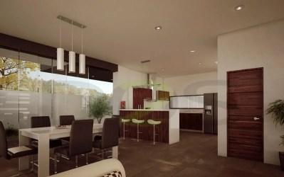 Interiores modernos casas en la rioja monteverde el