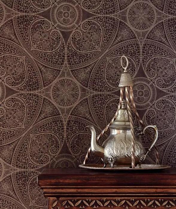 carta da parati in tnt collezione nova. Eclectic Style Walls Floors By Carta Da Parati Degli Anni 70 Eclectic Homify