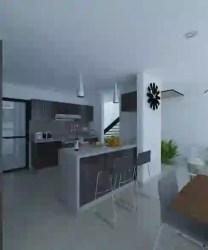 homify cocina mx barra desayunadora cocinas mejora arquitectos proyecto cca