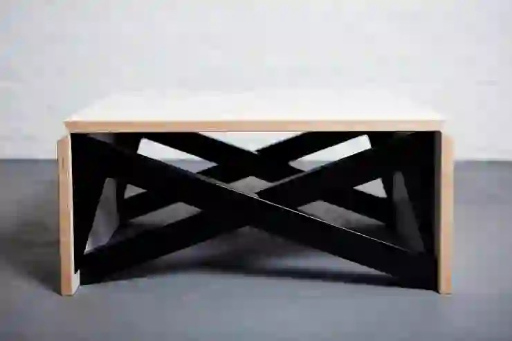 mk1 transforming coffee table wood homify