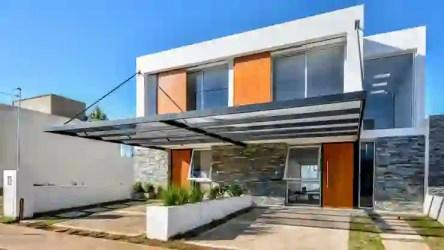 16 Diseños de fachadas modernas ¡Para enamorarse de la piedra! homify