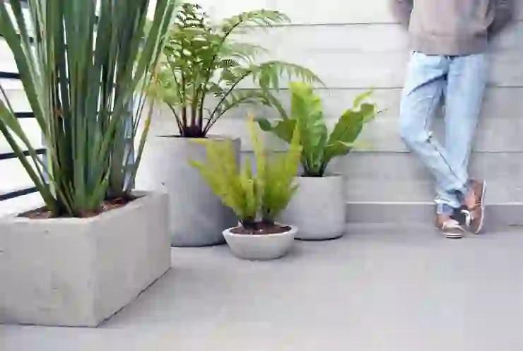 6 Pasos para hacer tus propias macetas de cemento