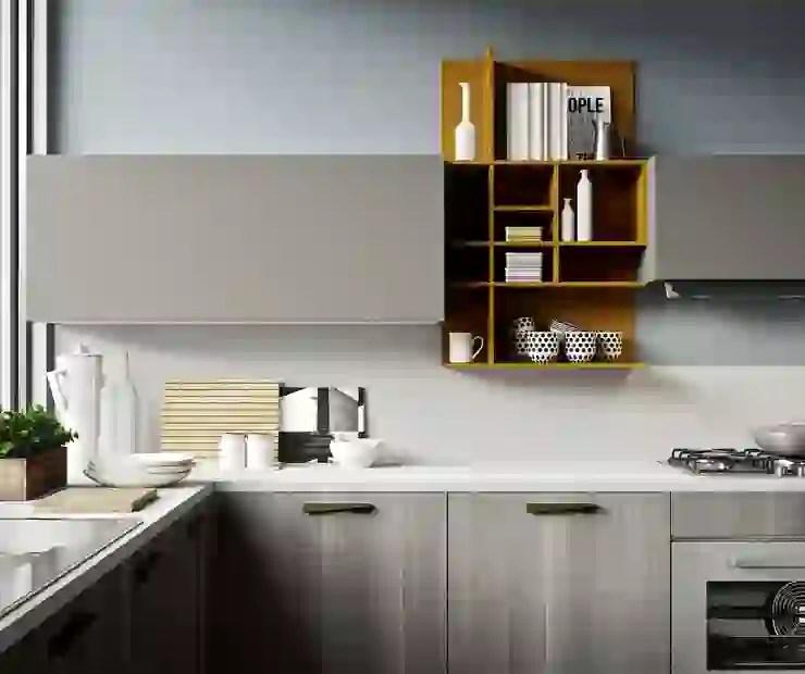 Mensola da parete legno e metallo design moderno con asta e ganci bagno cucina. 6 Caratteristiche Che Le Cucine Moderne Hanno In Comune Homify