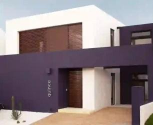 13 colores de moda para pintar la fachada de tu casa homify
