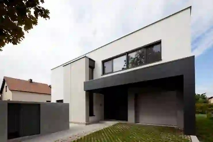de maisons modernes