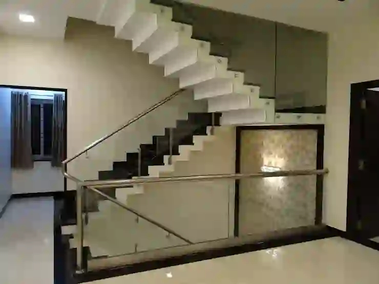 12 Staircases For Small Indian Homes Homify Homify   Outside Steps Design For Home   Storage Underneath   Small Space   Interior   Natural Outdoor   Railing