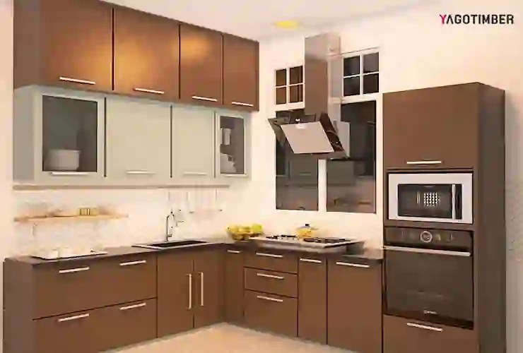9 Pictures Of L Shaped Modular Kitchens For Indian Homes Homify