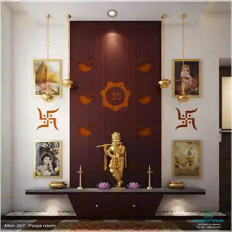 10 Simple Ideas For Beautiful Pooja Rooms In Indian Homes