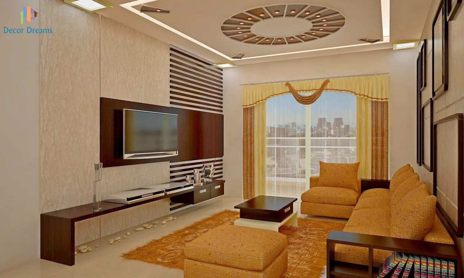 A Warm And Modern 3bhk Apartment In Bangalore