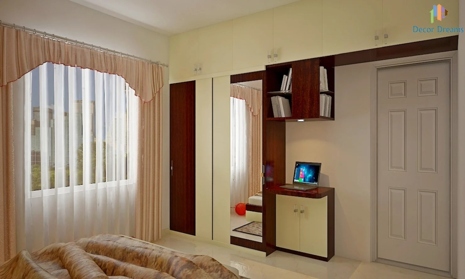 A Warm And Modern 3bhk Apartment In Bangalore  Home Design