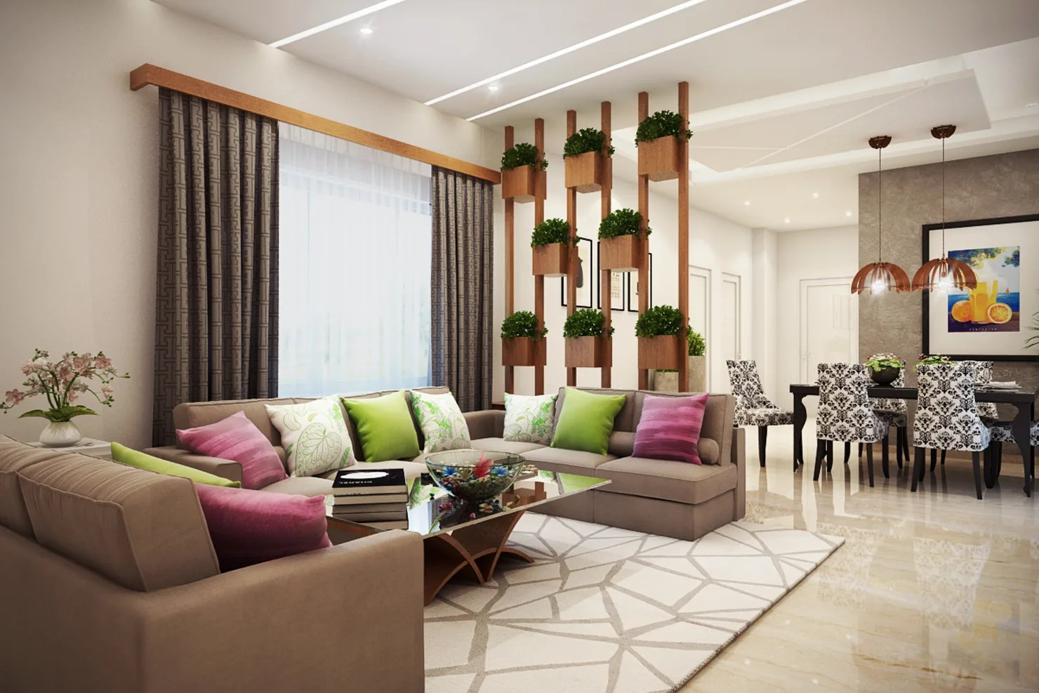 Home In Pune With Functional Interior Designs