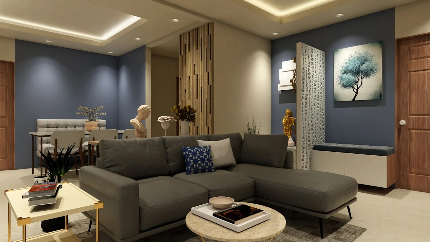 Modern Home Designs From Interior Decorators In Noida