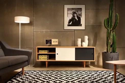 Wohnzimmer skandinavisch einrichten von Baltic Design Shop