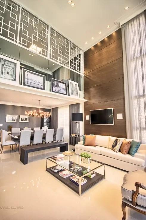 Apartamento  p direito duplo por Spengler Decor  homify