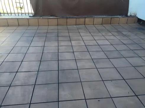 Solado en terrazas  Lechada negra de Fecofer Proyectos y