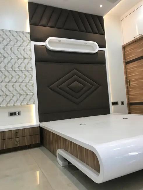 Luxury Interior Design 3 BHK Flat By Nabh Design & Associates Homify