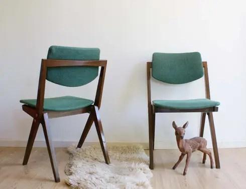 Toffe vintage meubels en retro design door Flat sheep  homify