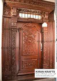 10 beautiful door designs for traditional Indian welcome