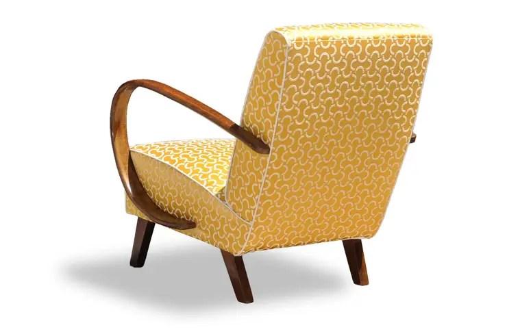 Poltrone Art Deco restaurate di Italian Vintage Sofa  homify