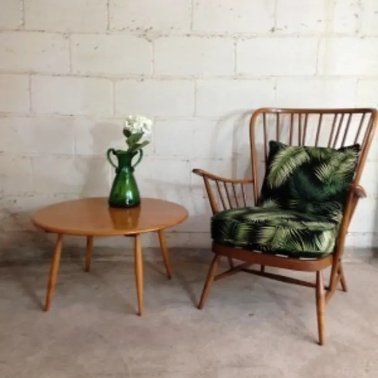 ercol chair design numbers bedroom decor palm print armchair by sketch interiors homify vintage in living room