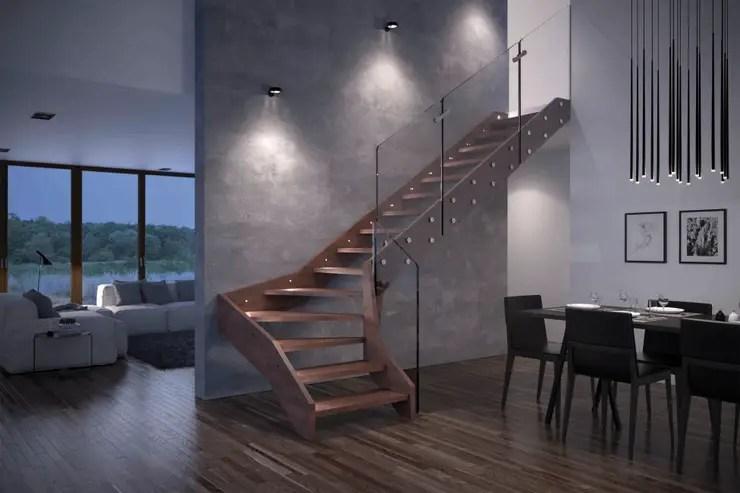6 idee uniche per illuminare le scale